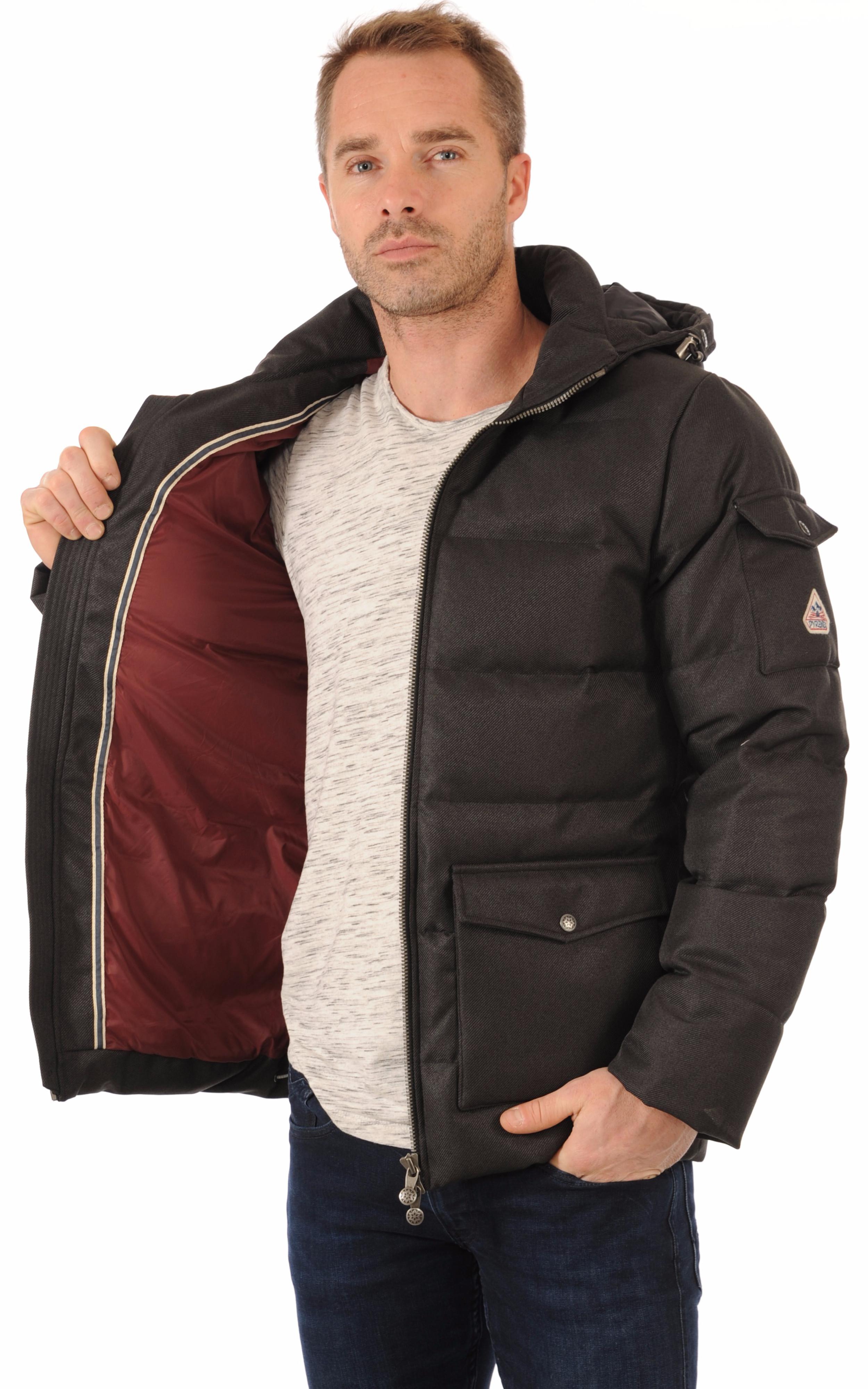 doudoune authentic jacket drill grise homme pyrenex la. Black Bedroom Furniture Sets. Home Design Ideas