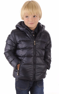 Doudoune Spoutnic Jacket Mat Little Bleu