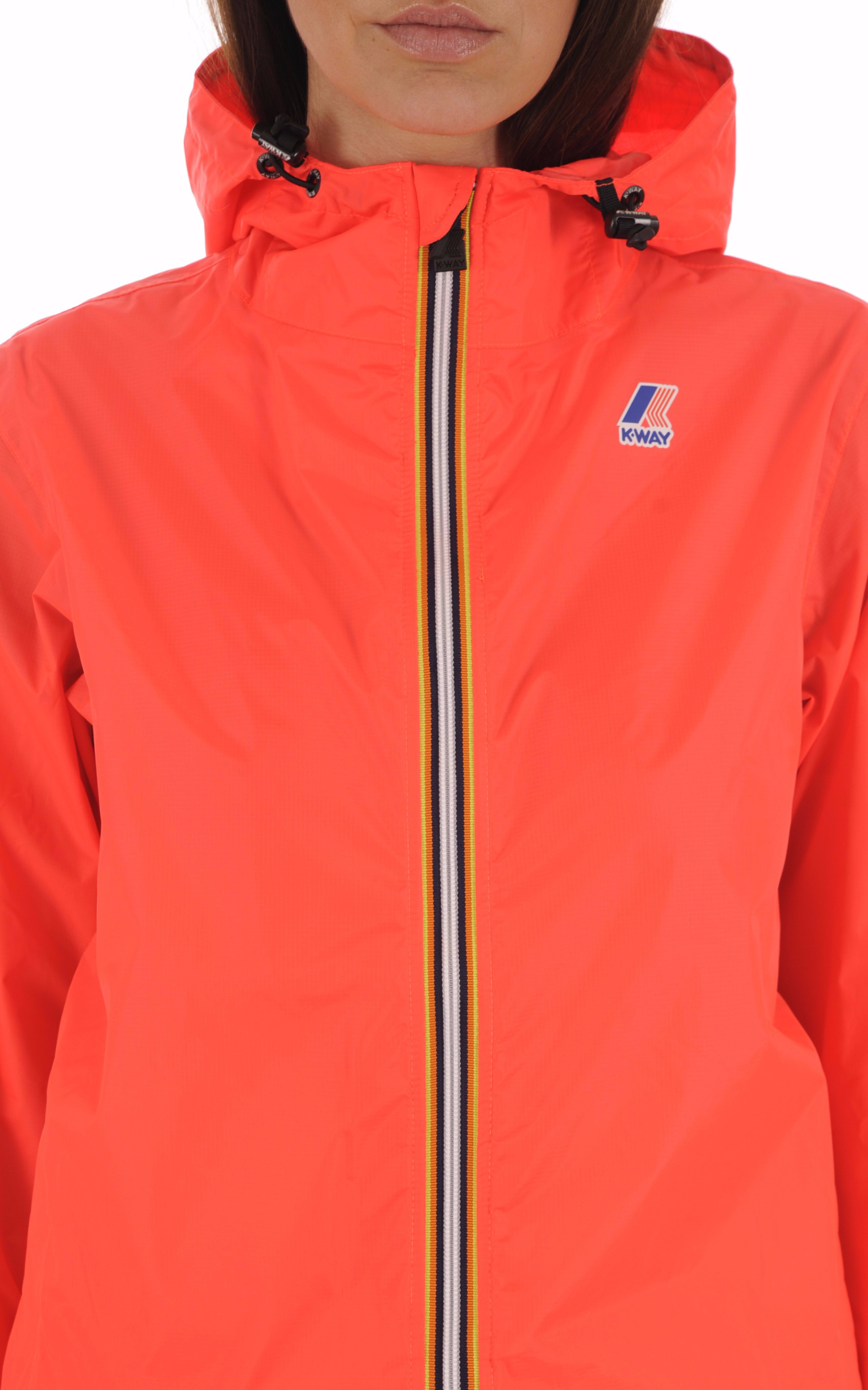 Le Vrai Claude 3.0 Red Fluo K-Way