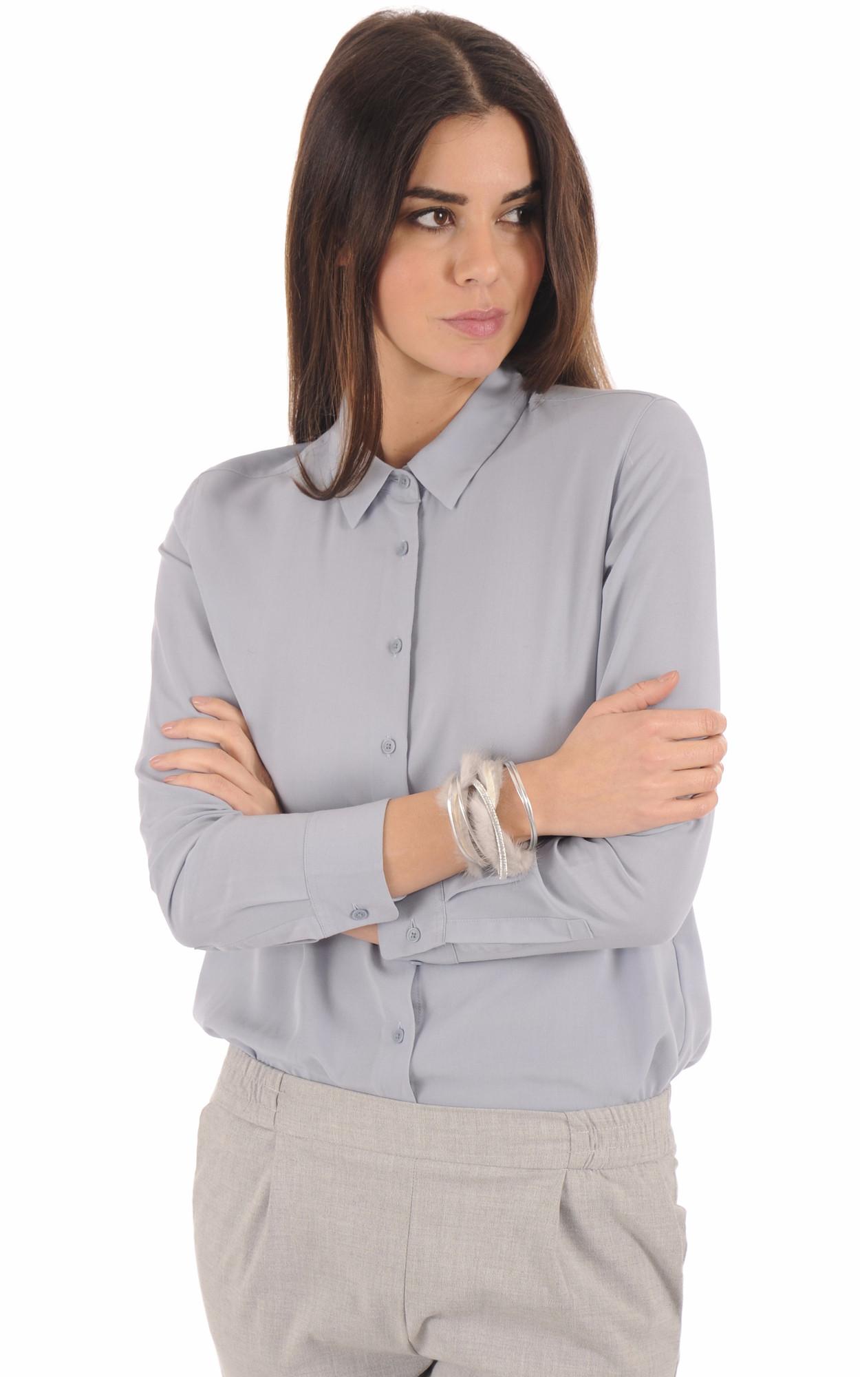 Bracelet Fourrure Vison  gris
