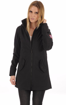 Manteau Avery Coupe-Vent Black1