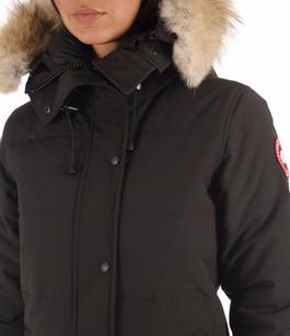 Parka Shelburne Noir Canada Goose