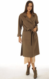 Manteau Firenze marron
