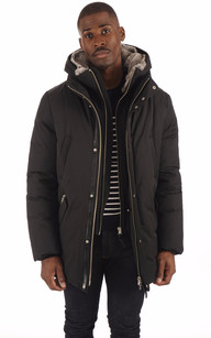 Parka EDWARD-X Black1
