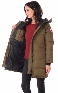 Parka Shelburne military green