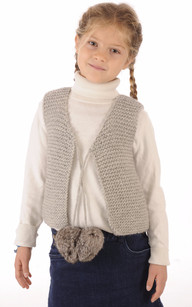 Gilet Enfant Maille