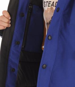 Parka Enfant LOGAN  Bleu Pacifique Canada Goose