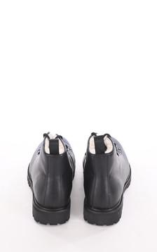 Boots montantes fourrées noires