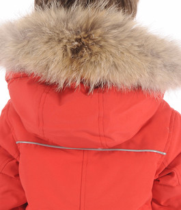Parka SNOWY OWL Rouge Canada Goose