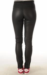 Pantalon Cuir Stretch Femme