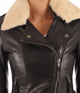 Blouson City Girl Noir Serge Pariente