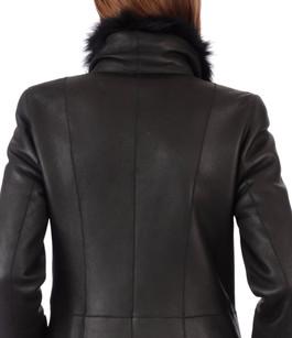 Manteau entrefino noir La Canadienne