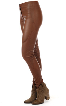 Pantalon Cuir Stretch