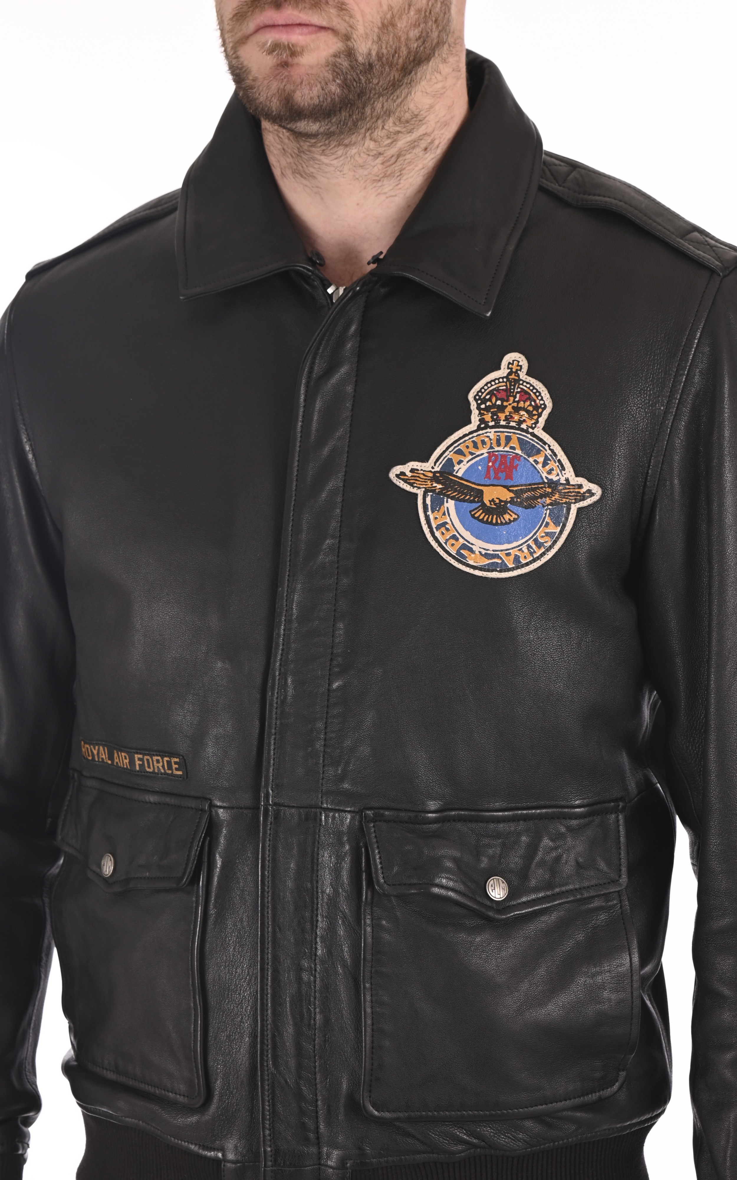 Pilote Britten noir Royal Air Force