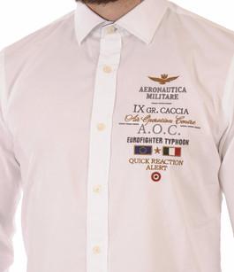 Chemise Blanche AOC Aeronautica Militare