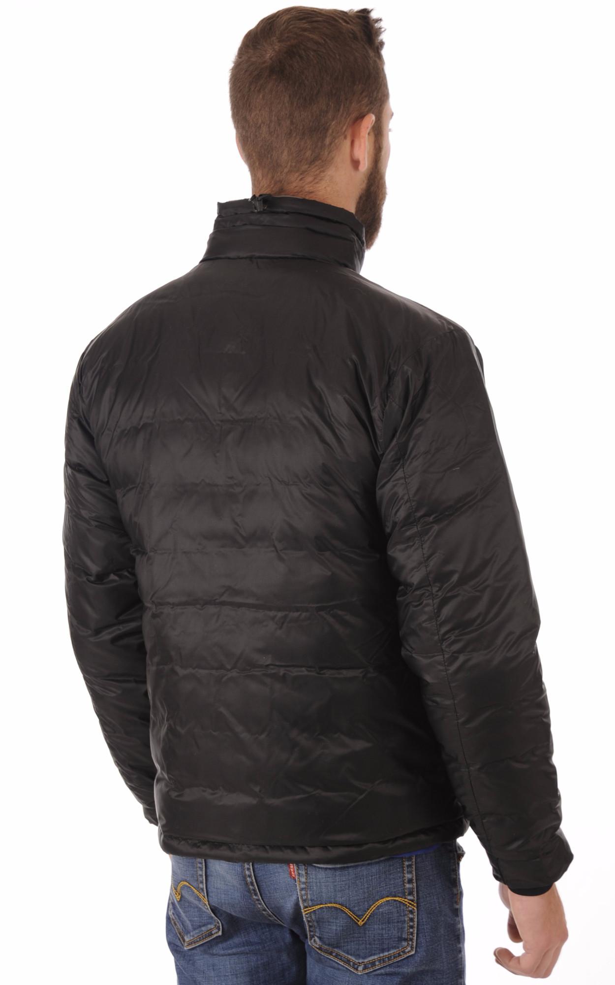 Doudoune Fine Lodge Black Sans Capuche