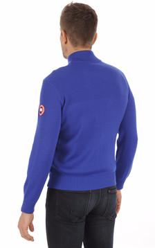 Gilet Hybridge Knit Pacific Blue