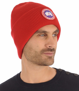 Bonnet ARTIC DISC Rouge Canada Goose