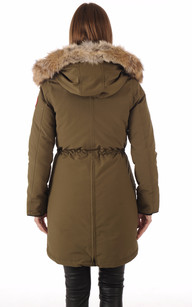 Parka Rossclair Military Green Canada Goose