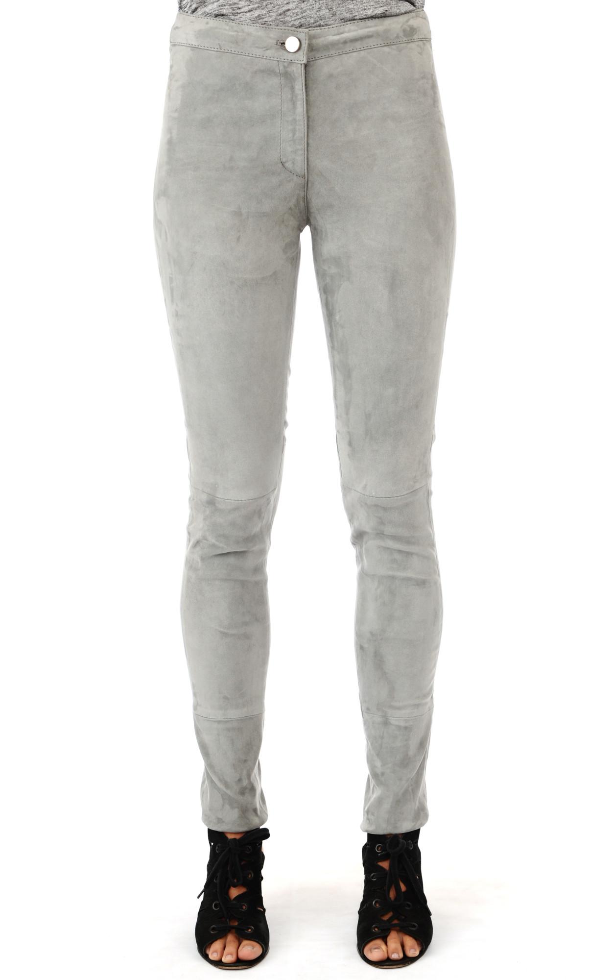 Pantalon Cuir Velours Stretch1