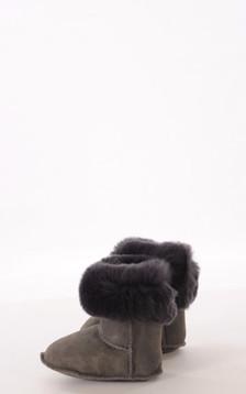 Chaussons Mouton et Rex Gris