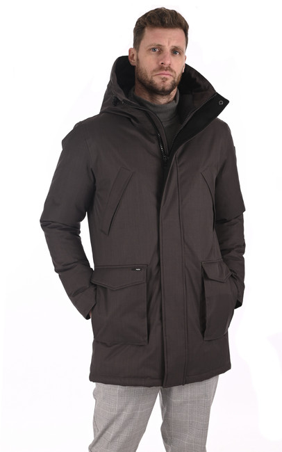 Parka Travis steel grey Nobis