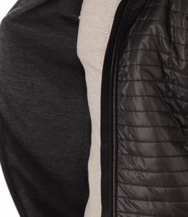 Pull Zippé Noir en Laine Sport-Chic Henjl