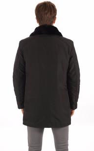 3/4 Textile et Lapin Noir Homme