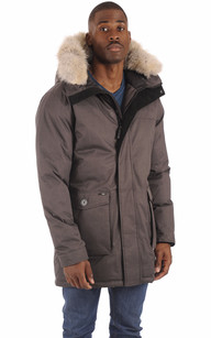 Parka Yves Stell Grey Homme