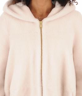 Veste en laine blanc cassé La Canadienne