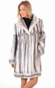 Manteau en Vison Black Cross Femme1