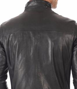 Blouson Cuir Souple Noir Daytona 73