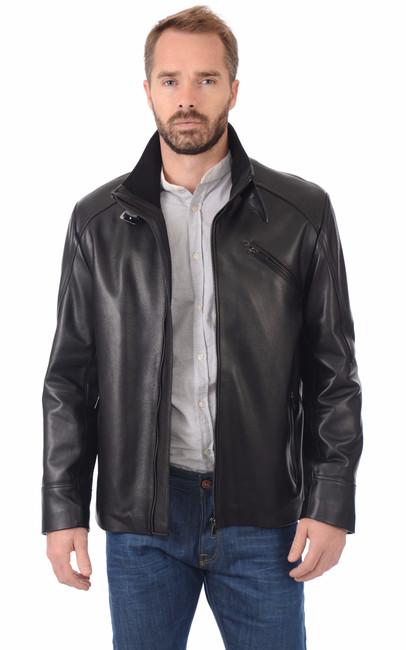 veste cuir homme la canadienne la canadienne veste 3. Black Bedroom Furniture Sets. Home Design Ideas