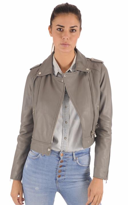 Oakwood Femme   Blouson cuir, veste en cuir et doudounes Oakwood 0ff3055ad90c