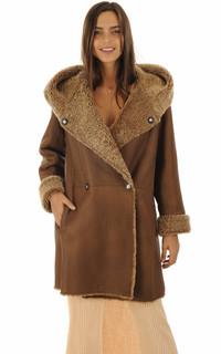 Manteau peau lainée Floride