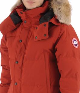 Parka Wyndham rouge Canada Goose