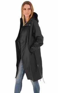 Imperméable Fishtail 1257 noir femme