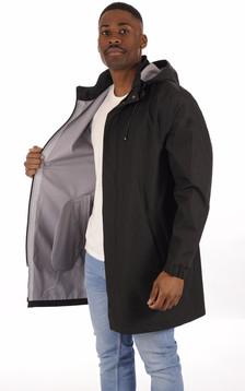 Imperméable Homme Cote Vertu Noir