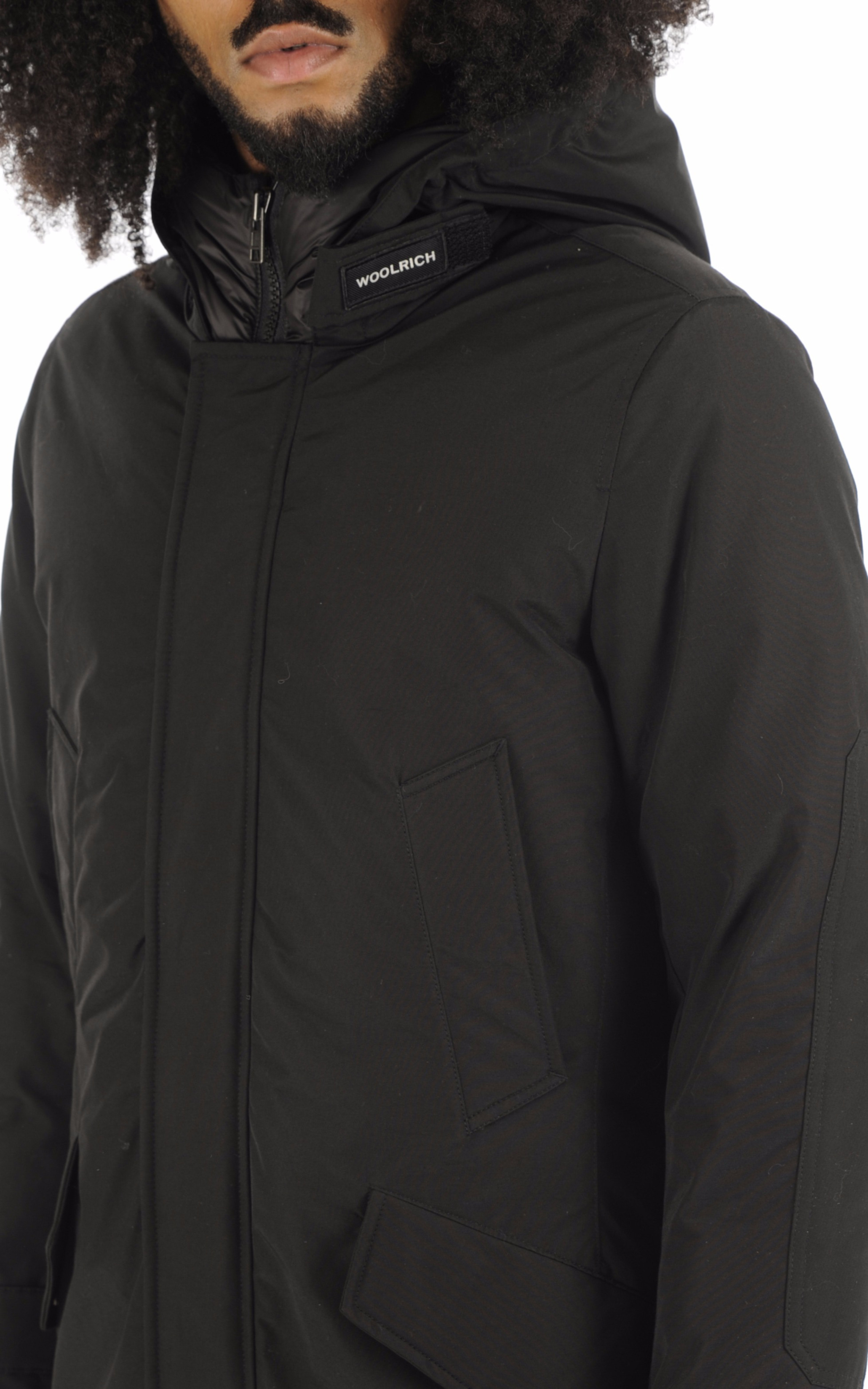Parka Polar noire Woolrich