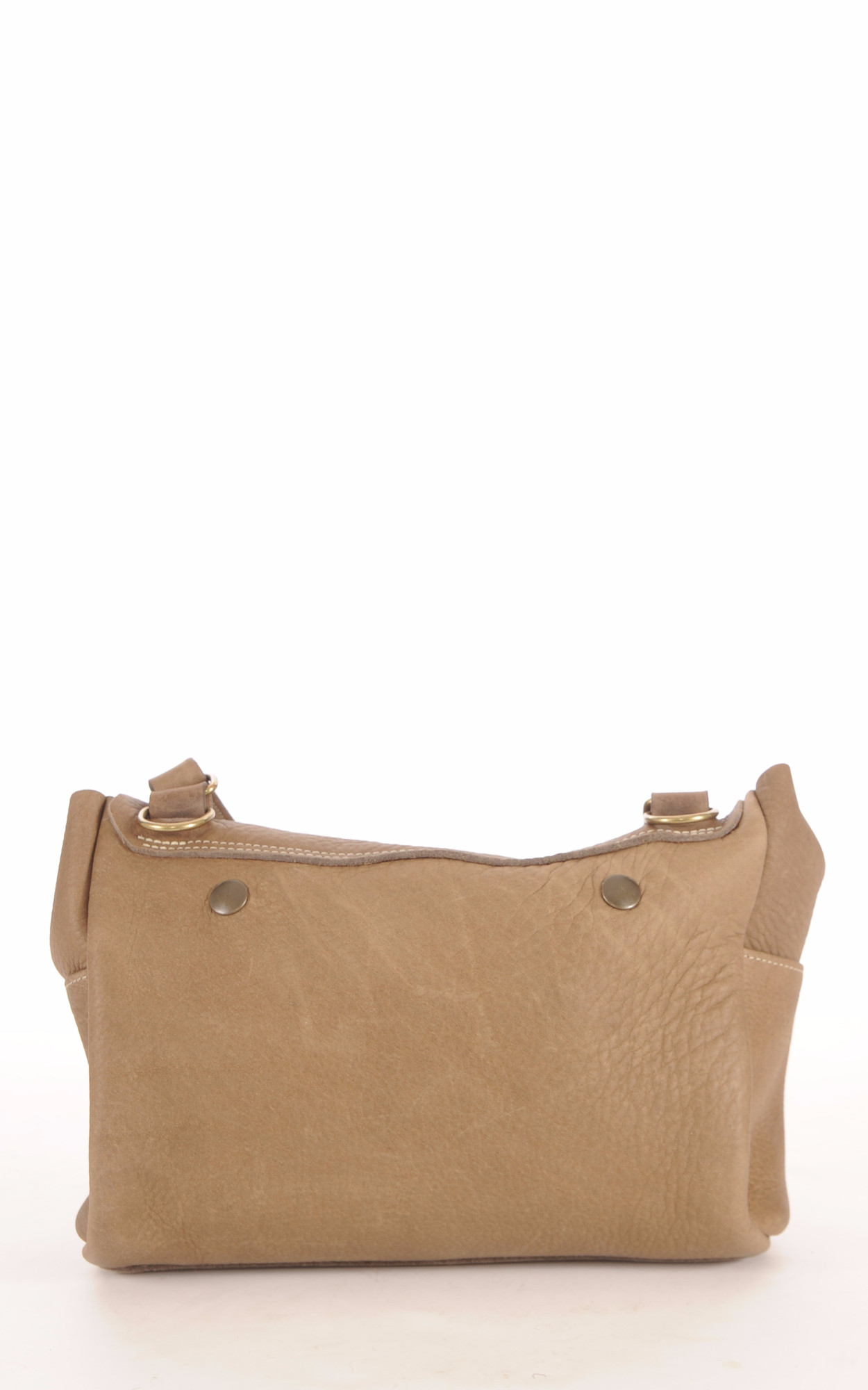 Sac Besace Vachette Taupe