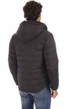 Doudoune Lodge à capuche noire
