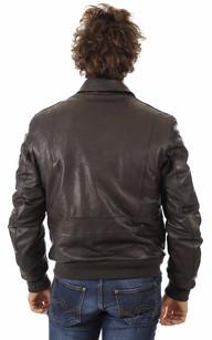 Blouson cuir homme marque italienne