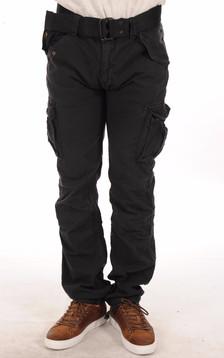 Pantalon Cargo Noir1