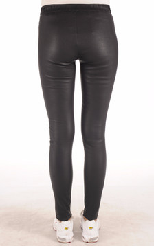 Legging Cuir Stretch Marine