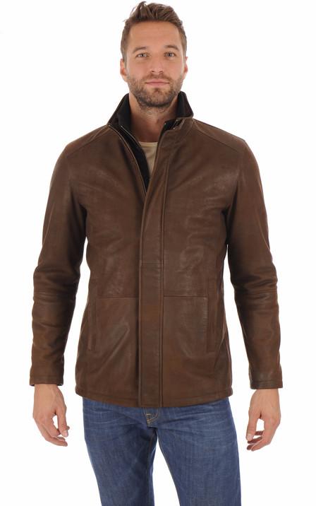 grand choix de c5212 6b603 Blouson et veste cuir homme Schott Redskins Serge Pariente ...