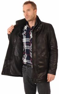 Sur-veste Cuir Chaud pour Homme