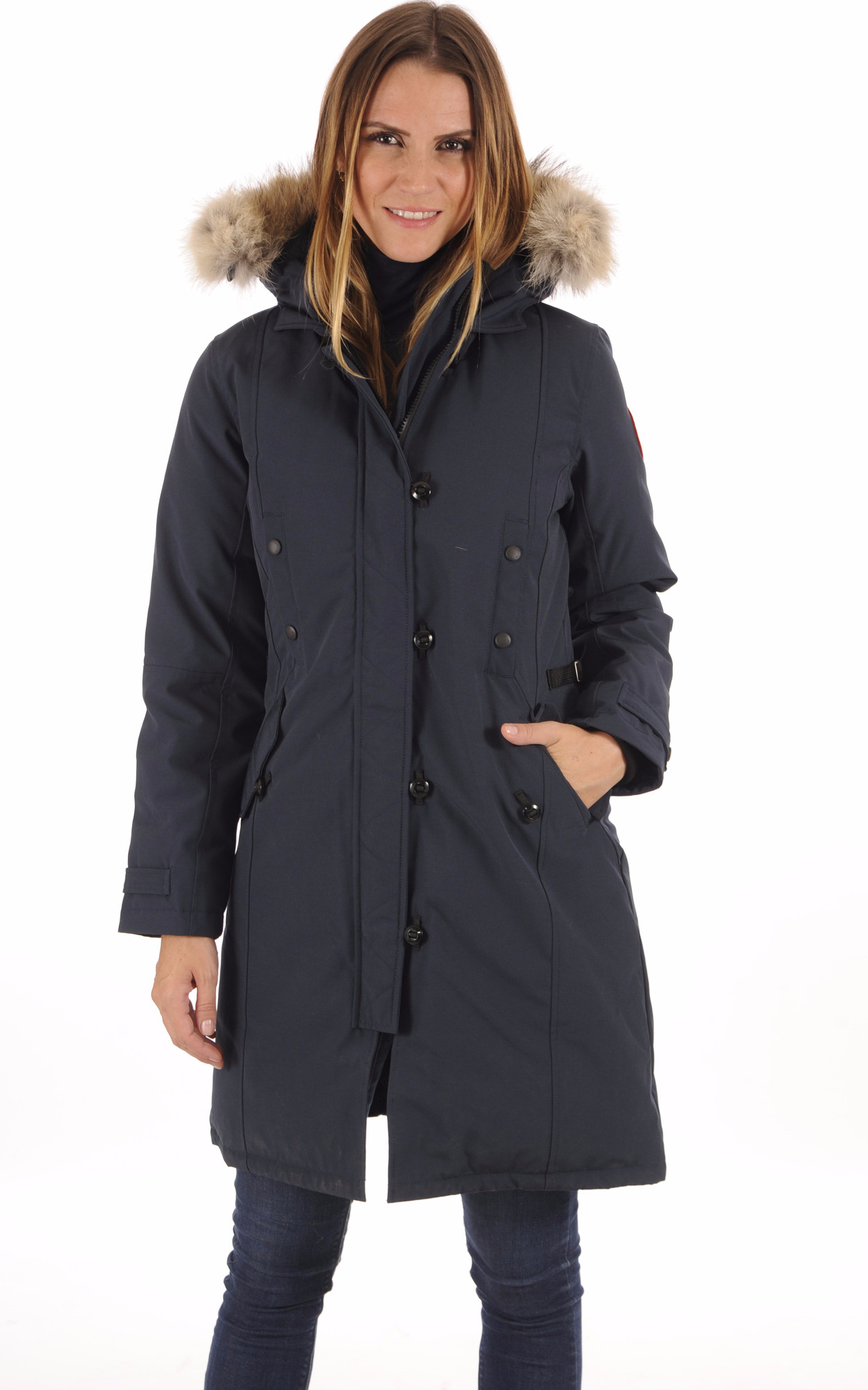 Parka Kensington Ink Blue