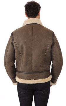 Bombardier Marron Top Gun Marron