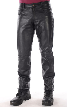 Pantalon Cuir Homme1