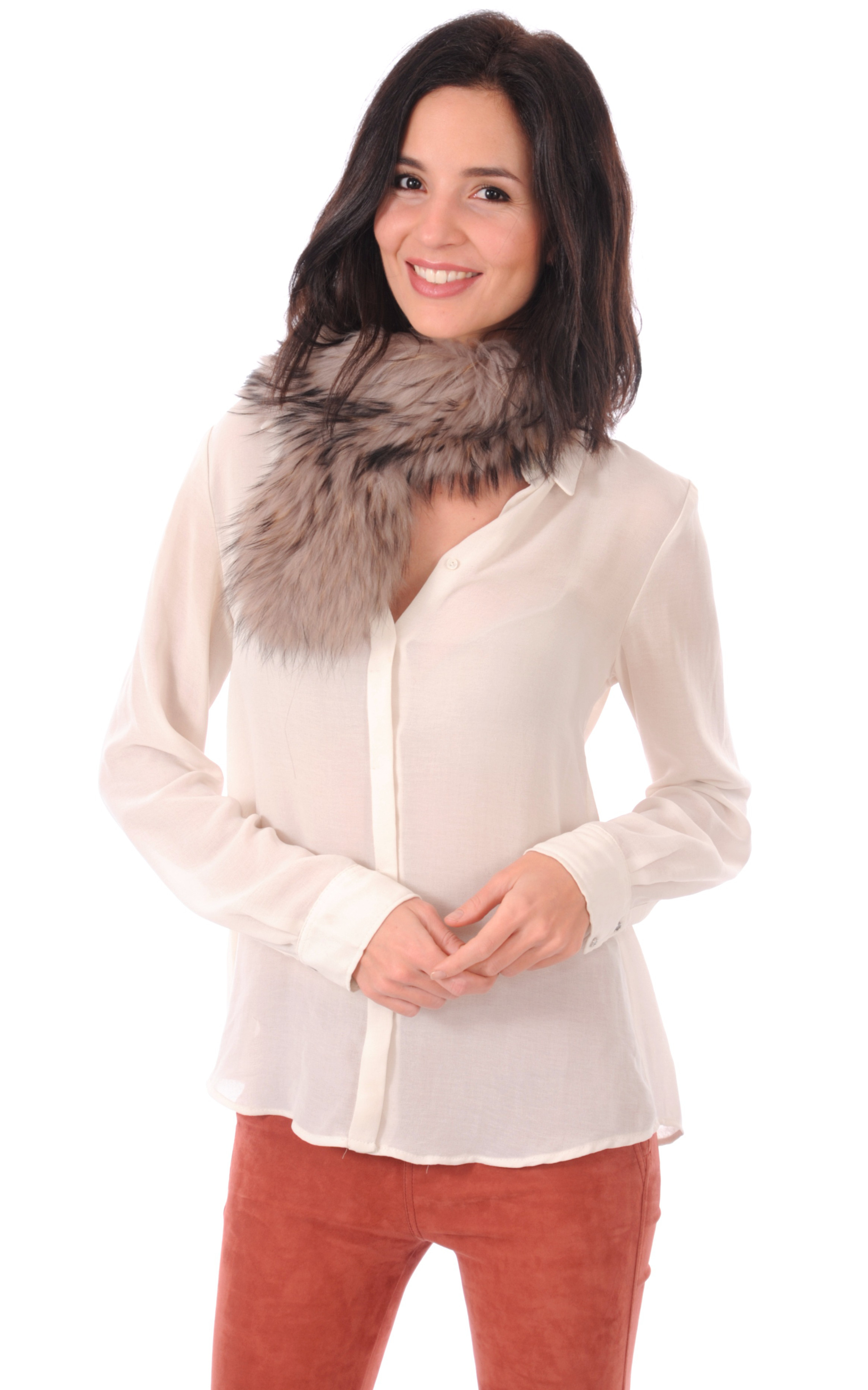 Col Textile & Fourrure Lea Clement